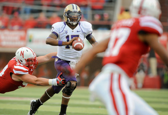 UW's Keith Price will be a Man on the Run when the Huskies play LSU Sept. 9th