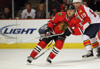 I would love to be rid of his contract but I don't see many takers for Steve Montador.