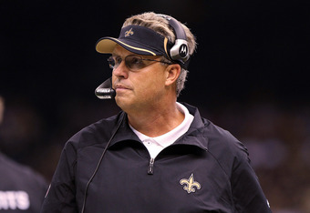 NEW ORLEANS, LA - OCTOBER 31: Defensive coordinator Gregg Williams of the New Orleans Saints looks on during the game against the Pittsburgh Steelers at the Louisiana Superdome on October 31, 2010 in New Orleans, Louisiana. (Photo by Matthew Sharpe/Getty
