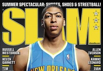 Anthony Davis in a Hornets jersey already? (via Slam Online)
