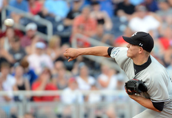OMAHA, NE - JUNE 24:  Forrest Koumas #17 of the South Carolina Gamecocks pitches against the Arizona Wildcats in the second inning during game 1 of the College World Series at TD Ameritrade Field on June 24, 2012 in Omaha, Nebraska.  (Photo by Harry How/G