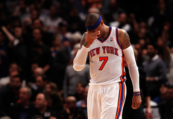Anthony needs to adjust his game in order to bring the Knicks deeper into the postseason.