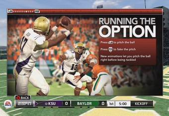 image from NCAA Football 13 Demo
