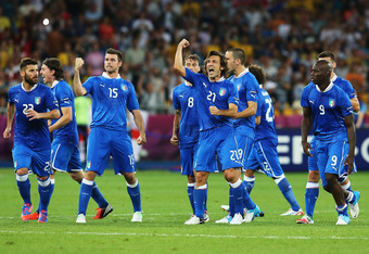 Italy's deserved victory over England sees them through to the semifinal.