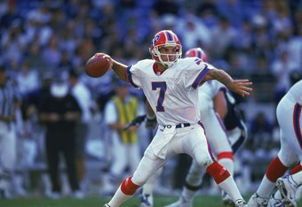Flutie was much better than Johnson in Buffalo