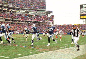 "Tennessee beat Buffalo via ""The Music City Miracle"""