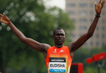 Kenyan David Rudisha will be Symmonds' biggest competition in London.
