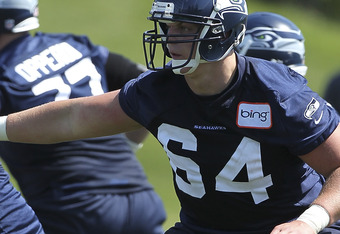 J.R. Sweezy will make the transition from defensive tackle to offensive guard this season