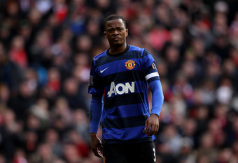 How much of a future does Patrice Evra have at Old Trafford?