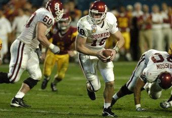 Oklahoma took on USC for the 2004 BCS Title