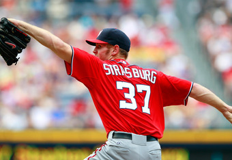Could Stephen Strasburg help the Nationals with his bat too?