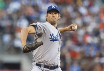 Clayton Kershaw pitched well in the 2-0 loss.
