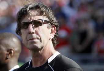 Toronto FC manager Paul Mariner