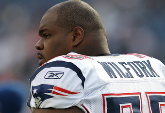 Unfortunately for Vince Wilfork, he may be at a positional disadvantage when it comes time to cast ballots for Canton.