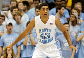 CHAPEL HILL, NC - NOVEMBER 22:  James Michael McAdoo #43 of the North Carolina Tar Heels against the Tennessee State Tigers during their game at Dean Smith Center on November 22, 2011 in Chapel Hill, North Carolina.  (Photo by Streeter Lecka/Getty Images)
