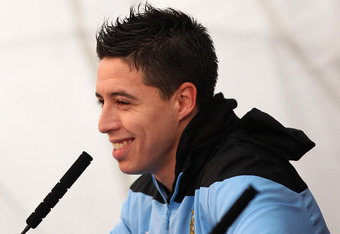 Nasri has made a number of disparaging comments about his old club in the press.
