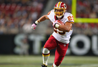 Roy Helu, Washington Redskins