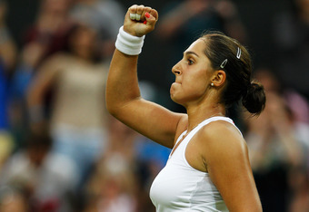Tamira Paszek was nothing short of dominant on Wednesday.