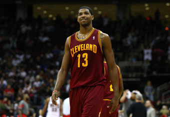 Cleveland picked up Tristan Thompson with the fourth pick in last year's draft