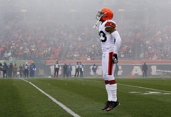 Out of the mist rises... Joe Haden?