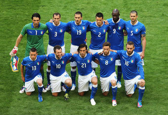 Italy will play Spain in the Euro 2012 final, a repeat of their Group C match earlier in the tournament. The game ended 1-1.