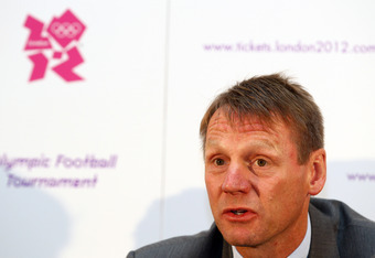 Team GB head coach Stuart Pearce opted for Giggs, Bellamy and Richards over Beckham
