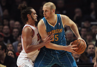 Adding a capable center like Chris Kaman is now the biggest task for Charlotte.