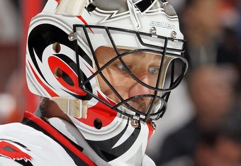 Brian Boucher could be out until December with this latest setback.