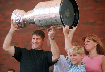 Ray Bourque was celebrated when he brought the Stanley Cup back to Boston in 2001.