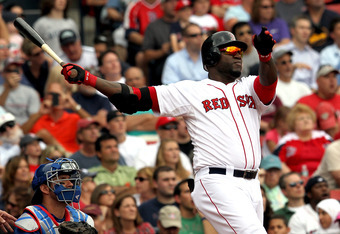 David Ortiz is on pace to hit 45 home runs this season.