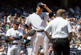 Indications are that Andy Pettitte could be out until September.