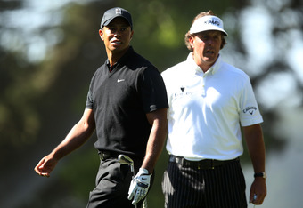 Tiger and Phil normally don't start their year until February in California.