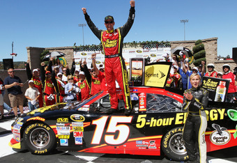 Bowyer won last Sunday at Sonoma