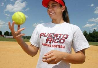 Puerto Rico team member Jenna Lopez. (Source: The Journal News)