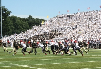 Corps of Cadets at Michie Stadium (K.Kraetzer)