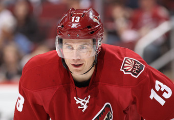 Star veteran Ray Whitney will add an extra boost of finesse to the Stars' offense.