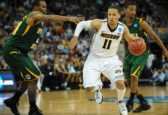 Michael Dixon and the Missouri Tigers will look to challenge for the SEC title in 2012-13.