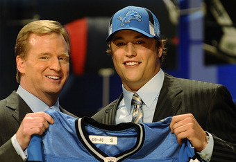 It was all downhill after Stafford went No. 1 in 2009