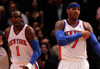 Amar'e Stoudemire and Carmelo Anthony may be on New York's second best team next season.
