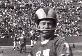 Norm Van Brocklin was one of the first great quarterbacks