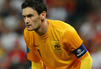Lloris has been France's No. 1 for nearly three years now.