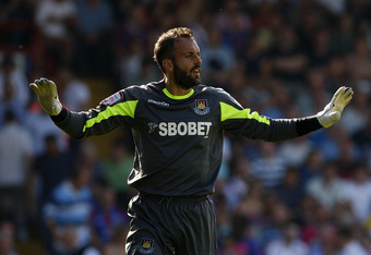 Almunia, most recently on loan with West Ham United, has left the Emirates.