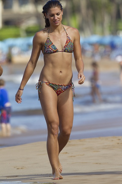 Alex Morgan Abs Photo credit: busted coverage