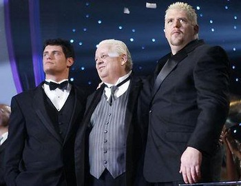 wwe dusty rhodes and cody goldust relationship