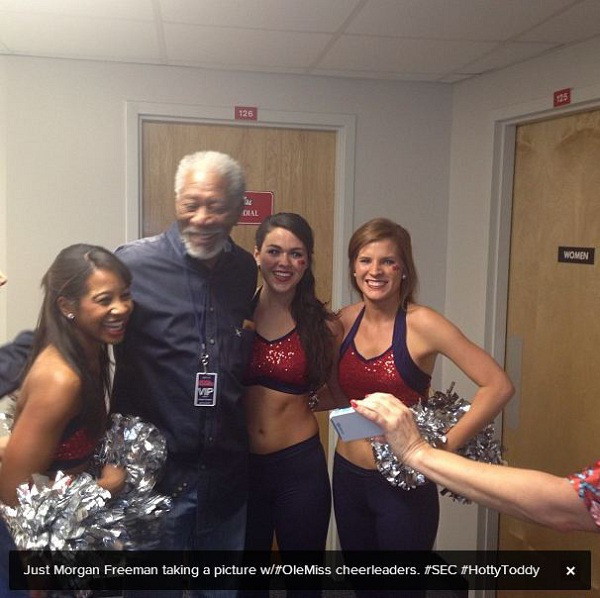 Morgan-freeman-ole-miss-cheerleaders-1_original