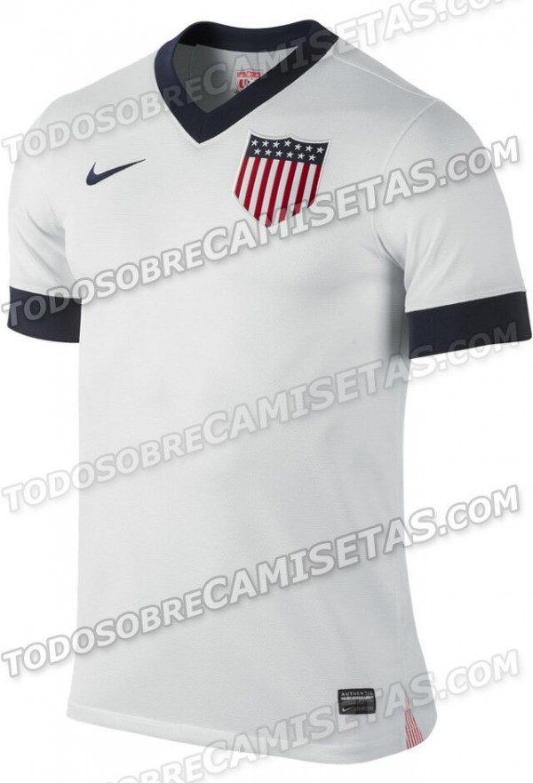 Leaked! Portugals white & blue away kit for the 2014 World Cup in Brazil [Picture]