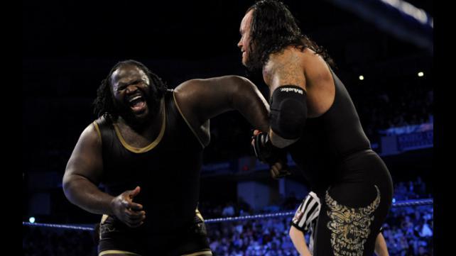 The Undertaker vs. Mark Henry