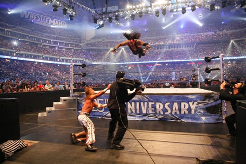 Image result for the undertaker vs shawn michaels wrestlemania 25