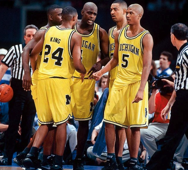 How Michigan's Fab Five Changed the NBA Forever | Bleacher ...