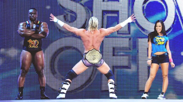 Dolph Ziggler s entrance as Dolph Ziggler World Heavyweight Champion